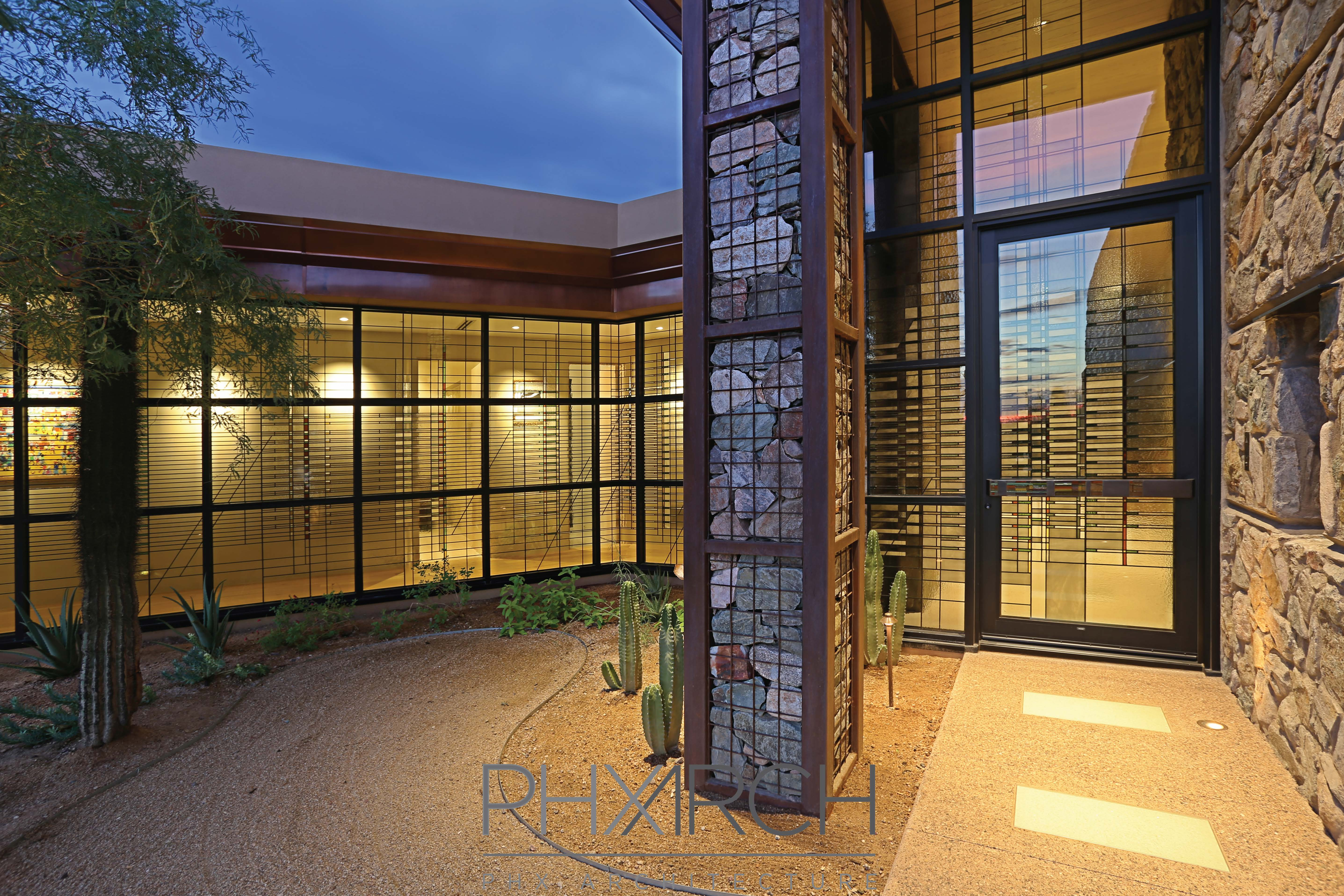 Project Spotlight Contemporary Dc Ranch Home Phx Architecture