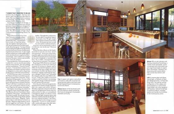 Erik Peterson Named Master Of The Southwest Architect By