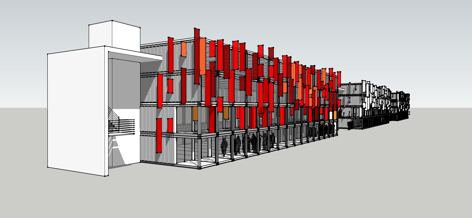 Shipping containers real life legos phx architecture for Multi family living