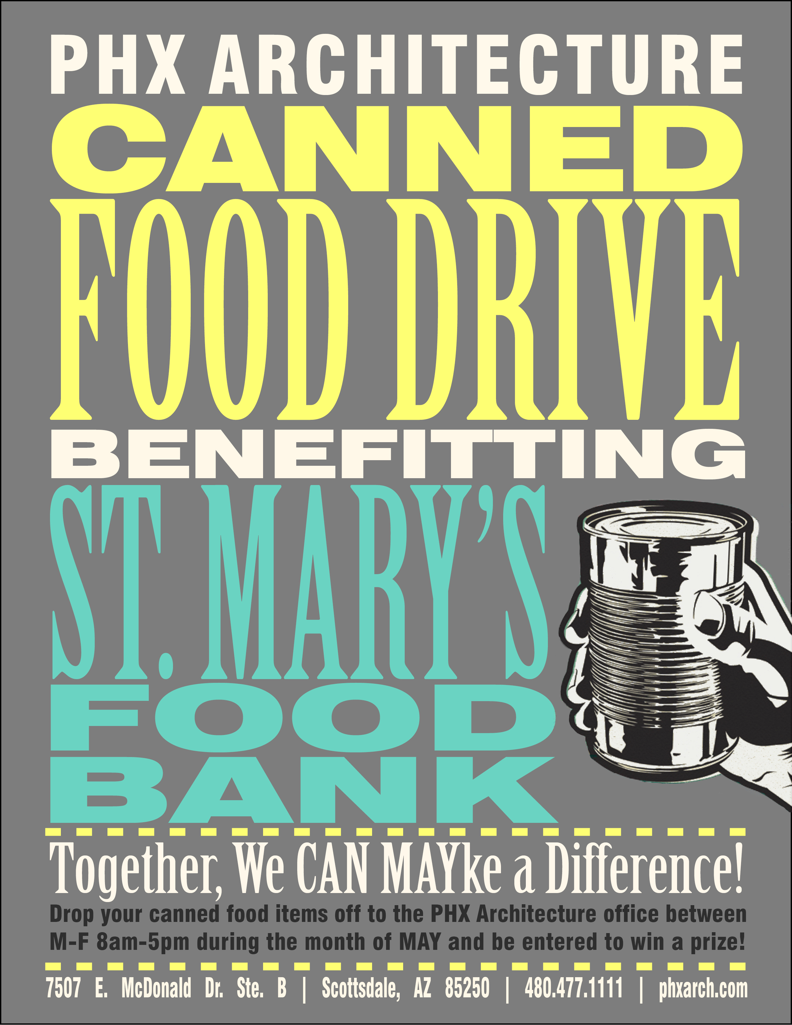 food drive flyers