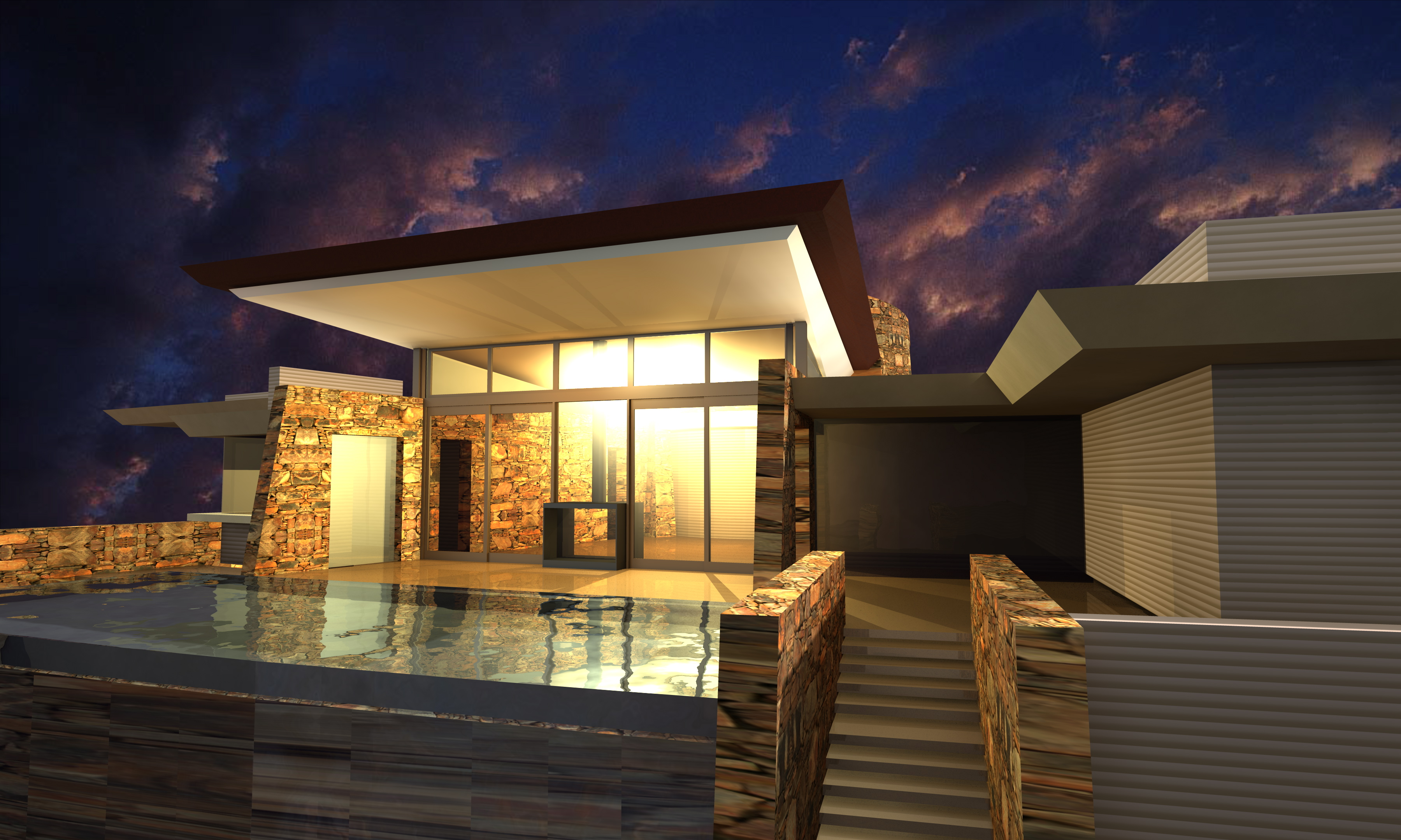 contemporary home | PHX Architecture