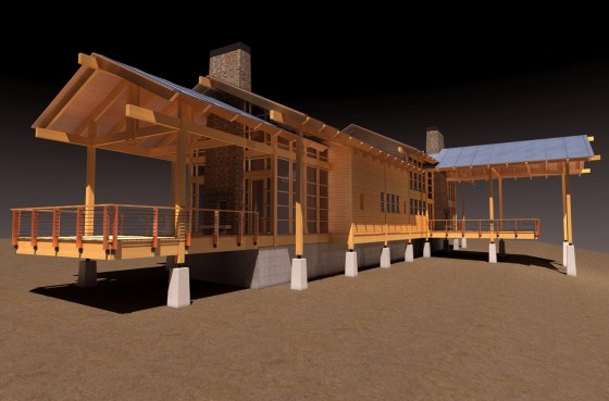life in 3d modern mountain home designs phx architecture