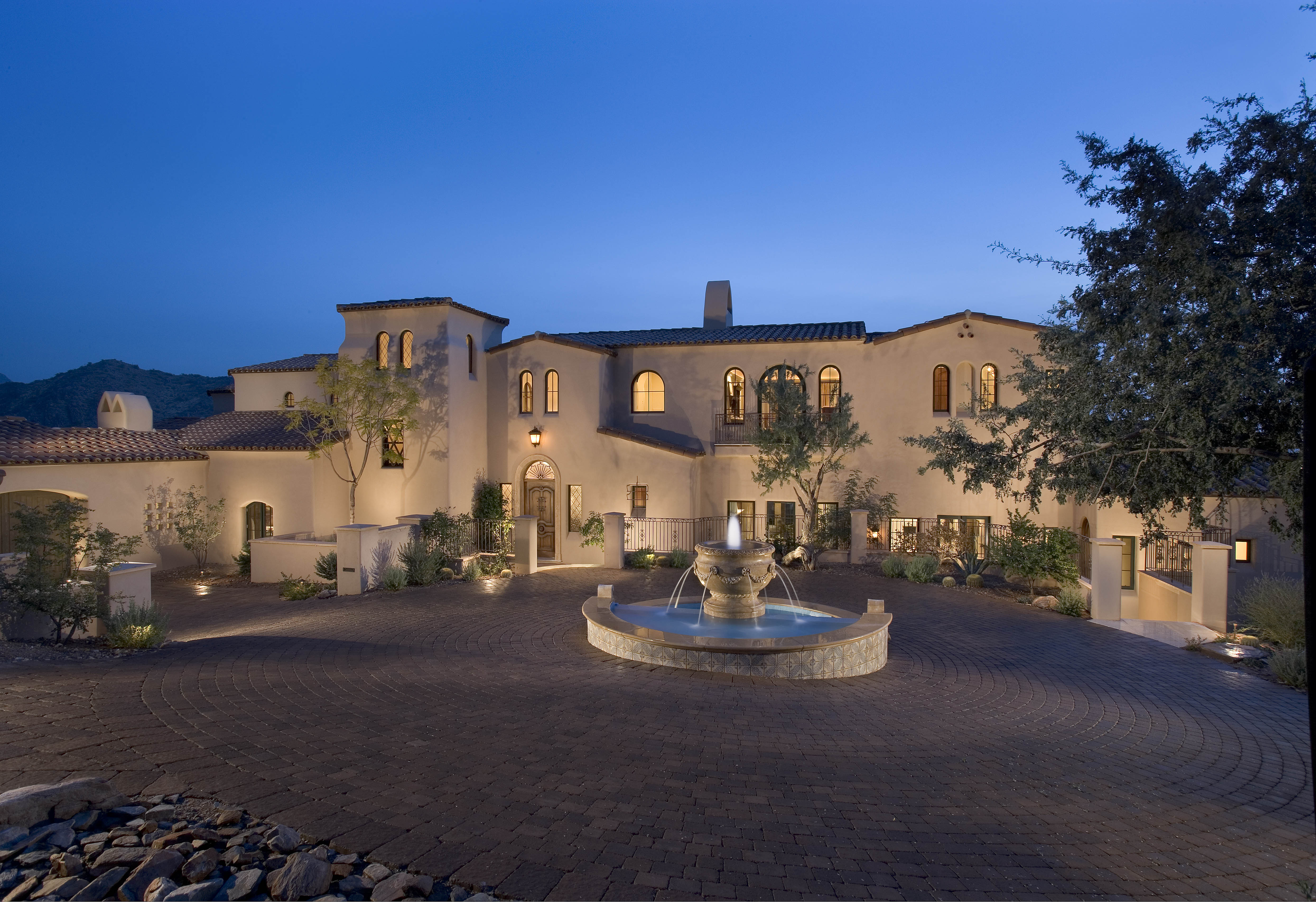 Timeless Architecture Formal Mediterranean Style PHX Architecture